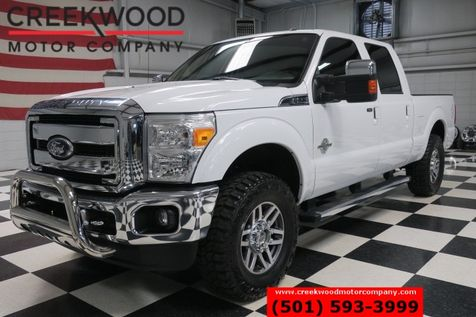 2011 Ford Super Duty F-250 Lariat 4x4 Diesel White Leather New Tires LowMiles in Searcy, AR