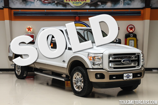 2011 Ford Super Duty F-350 King Ranch This Carfax 1-Owner accident-free 2011 Ford Super Duty F-350