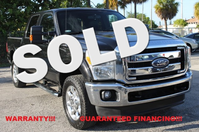 2011 Ford Super Duty F-350 Lariat  WARRANTY CARFAX CERTIFIED AUTOCHECK CERTIFIED 1OWNER 7 S