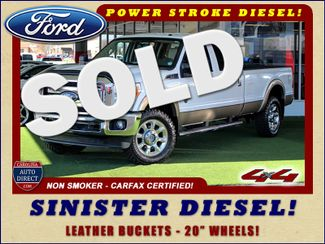 2011 Ford Super Duty F-350 SRW Pickup Lariat Crew Cab Long Bed 4x4 - SINISTER DIESEL! Mooresville , NC