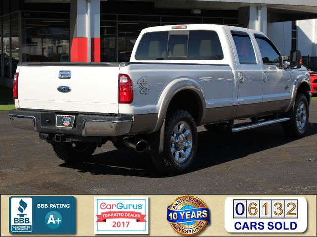 2011 Ford Super Duty F-350 SRW Pickup Lariat Crew Cab Long Bed 4x4 - SINISTER DIESEL! Mooresville , NC 2