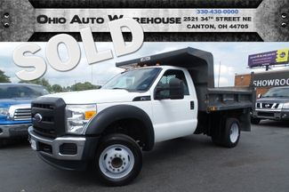 2011 Ford Super Duty F-450 DRW 1.5 Ton Dump Truck 1-Owner Clean Carfax We Finance | Canton, Ohio | Ohio Auto Warehouse LLC in  Ohio