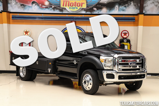 2011 Ford Super Duty F-550 XLT 4x4 This Carfax 1-Owner accident-free 2011 Ford Super Duty F-550 D