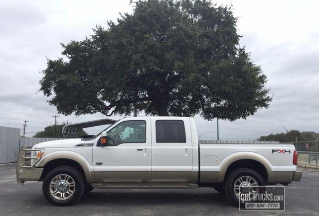 2011 Ford Super Duty F250 Crew Cab King Ranch FX4 6.7L Power Stroke 4X4 | American Auto Brokers San Antonio, TX in San Antonio Texas