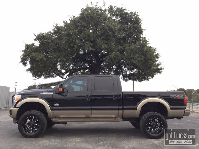 2011 Ford Super Duty F250 Crew Cab King Ranch FX4 6.7L Power Stroke 4X4 | American Auto Brokers San Antonio, TX in San Antonio Texas