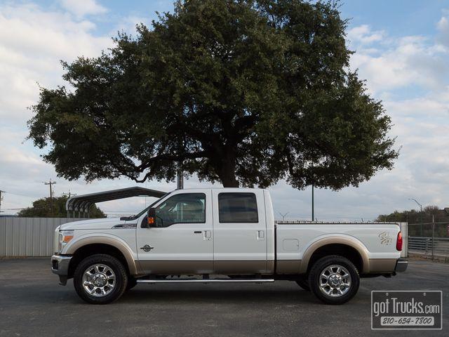 2011 Ford Super Duty F250 Crew Cab Lariat 6.7L Power Stroke Diesel 4X4 | American Auto Brokers San Antonio, TX in San Antonio Texas