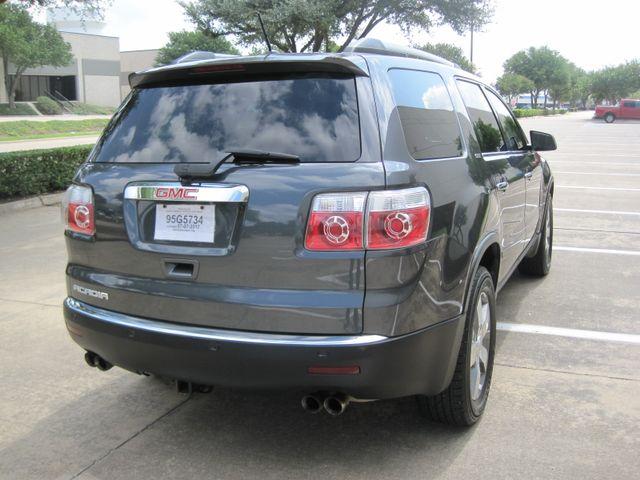 2011 GMC Acadia SLT, Nav, Leather, Sun Roof, DVD, Low Miles Plano, Texas 10
