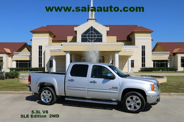 2011 Gmc Sierra 1500 Crew Sle Texas Edition 20s Pwr SEAT CUSTOM LEATHER TOW PKG BEDLINER LOADED CLEAN CAR FAX SERVICED DETAILED READY TO GEAUX | Baton Rouge , Louisiana | Saia Auto Consultants LLC in Baton Rouge  Louisiana