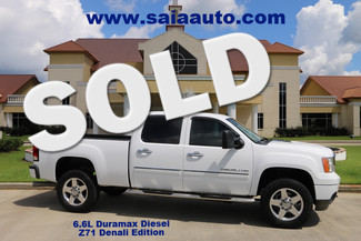 2011 Gmc Sierra 2500 Hd Denali Duramax Diesel 4wd Navi Roof Back Up Camera Htd Ac Seats in Baton Rouge  Louisiana