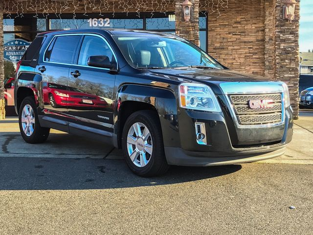 2011 GMC Terrain SLE-1 Clean CARFAX Carbon Black Metallic 2011 GMC Terrain SLE-1 AWD 6-Speed Auto