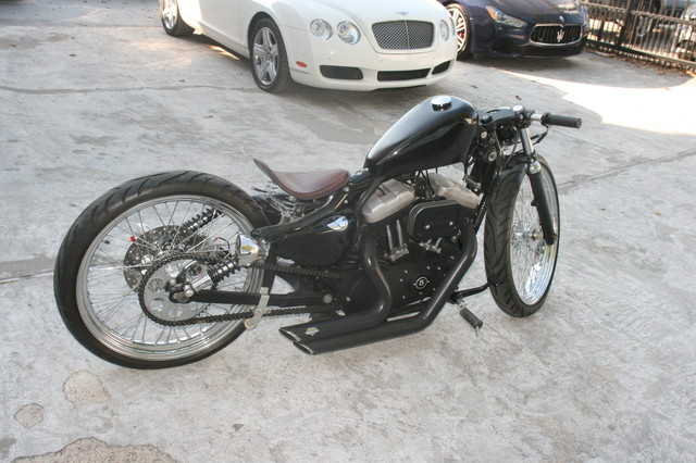 2011 Harley Custom Bobber Houston, Texas 3