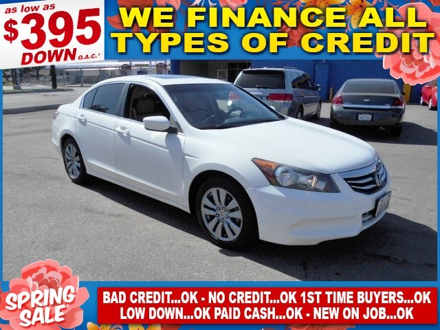 2011 Honda Accord EX-L Limited warranty included to assure your worry-free purchase AutoCheck rep