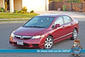 2011 Honda CIVIC LX 4 DOORS SEDAN 64K ORIGINAL AUTOMATIC SERVICE REOCRDS CRUISE CONTROL Woodland Hills, CA