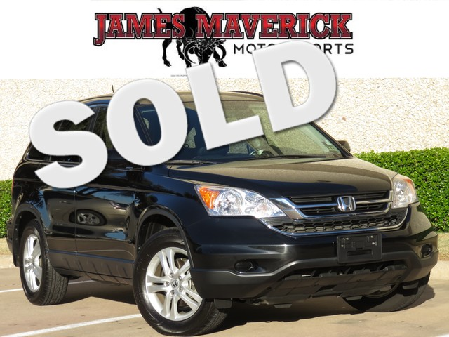 2011 Honda CR-V EX-L 1- owner clean Carfax Texas owned and as nice as they come This CR-V is loa