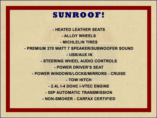 2011 Honda CR-V EX-L-AWD - SUNROOF-HEATED LEATHER! Mooresville , NC 1