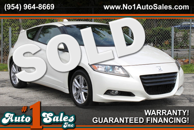 2011 Honda CR-Z EX  WARRANTY 2 OWNERS 7 SERVICE RECORDS HYBRID TRADES WELCOME  Honda re