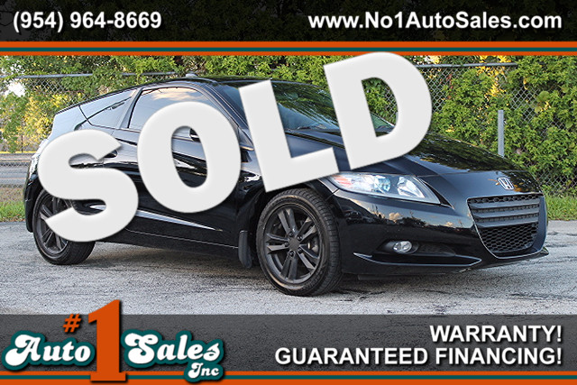 2011 Honda CR-Z EX  WARRANTY CARFAX CERTIFIED 20 SERVICE RECORDS HYBRID FLORIDA VEHICLE TR