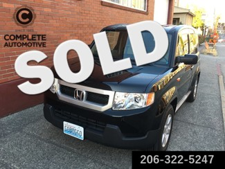 2011 Honda Element EX 4 Wheel Drive 17,000 Original Miles Like New Navigation Rear Camera Rare in Black   in Seattle,