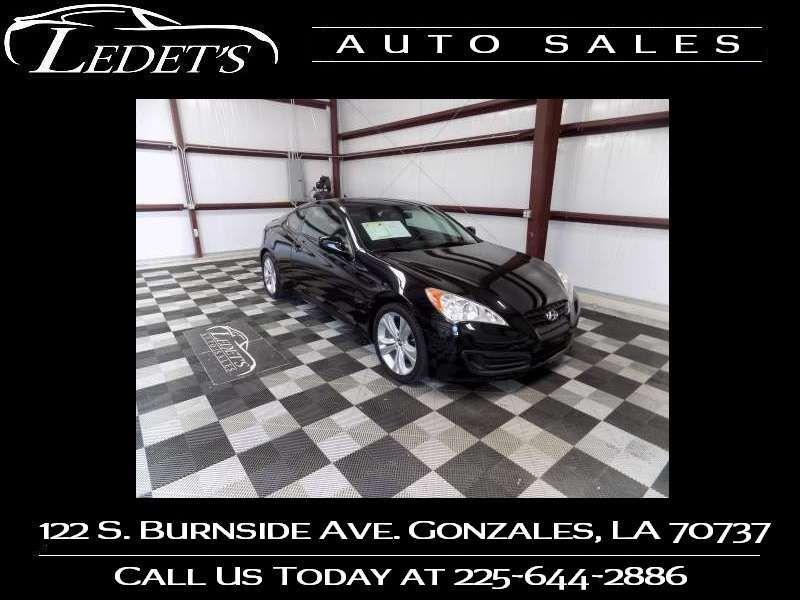 2011 Hyundai Genesis Coupe 2.0T - Ledet's Auto Sales Gonzales_state_zip in Gonzales Louisiana