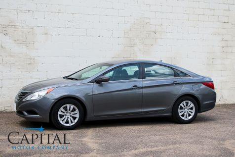 2011 Hyundai Sonata GLS w/Bluetooth Audio Sound System, Remote Start and Gets 35 MPG in Eau Claire