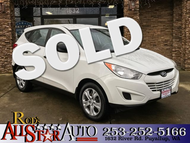 2011 Hyundai Tucson GL The CARFAX Buy Back Guarantee that comes with this vehicle means that you c