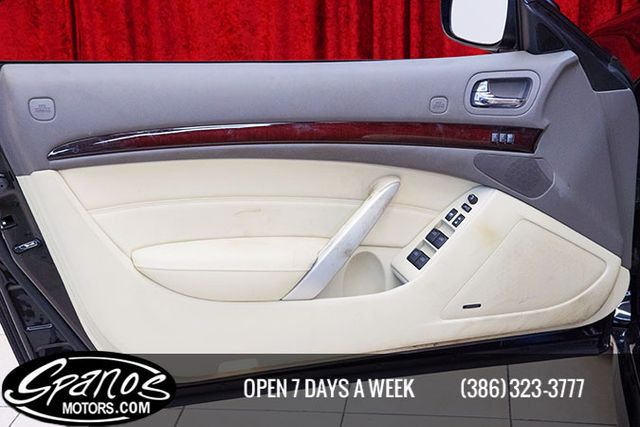 2011 Infiniti G37 Convertible Daytona Beach, FL 20