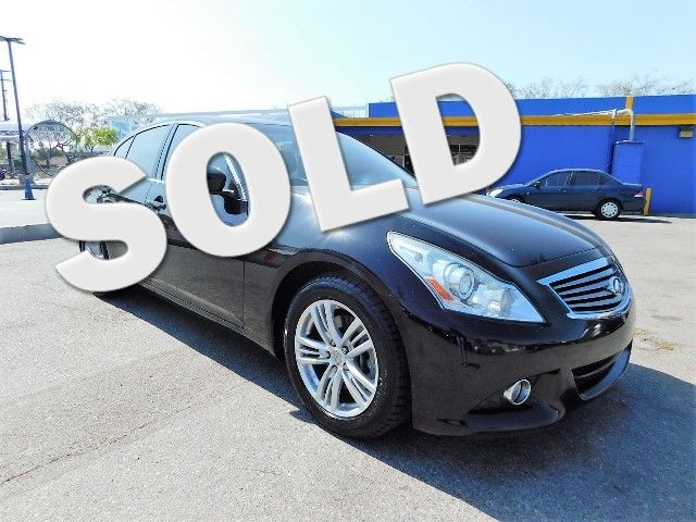2011 INFINITI G37 Sedan Journey Limited warranty included to assure your worry-free purchase Auto