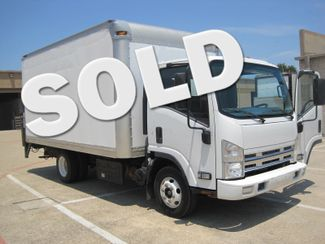 2011 Isuzu NPR Diesel, 14ft Box Van with Liftgate, 1 Owner, Ready to Work, Low Miles Plano, Texas