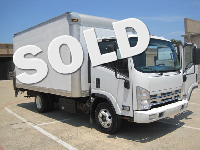 2011 Isuzu NPR Diesel, 14ft Box Van with Liftgate, 1 Owner, Ready to Work, Low Miles Plano, Texas 0