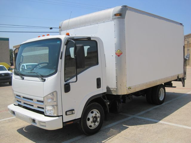 2011 Isuzu NPR Diesel, 14ft Box Van with Liftgate, 1 Owner, Ready to Work, Low Miles Plano, Texas 4
