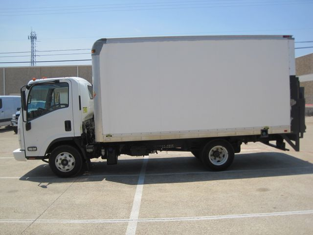 2011 Isuzu NPR Diesel, 14ft Box Van with Liftgate, 1 Owner, Ready to Work, Low Miles Plano, Texas 5