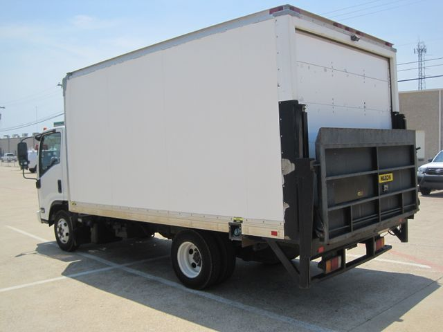 2011 Isuzu NPR Diesel, 14ft Box Van with Liftgate, 1 Owner, Ready to Work, Low Miles Plano, Texas 7