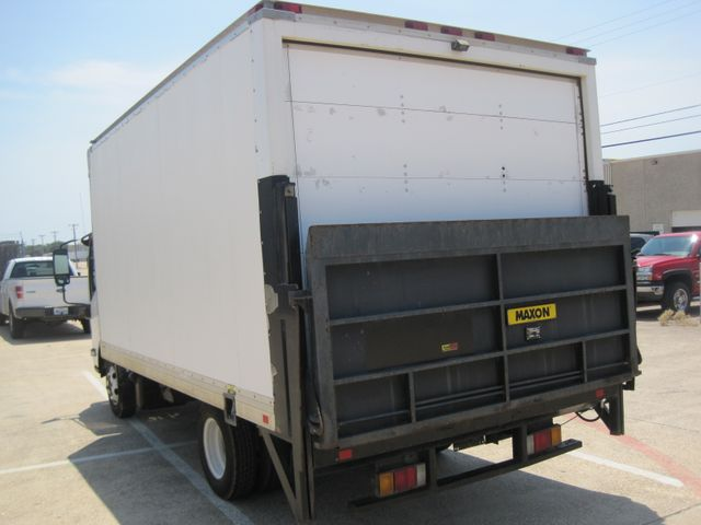 2011 Isuzu NPR Diesel, 14ft Box Van with Liftgate, 1 Owner, Ready to Work, Low Miles Plano, Texas 8
