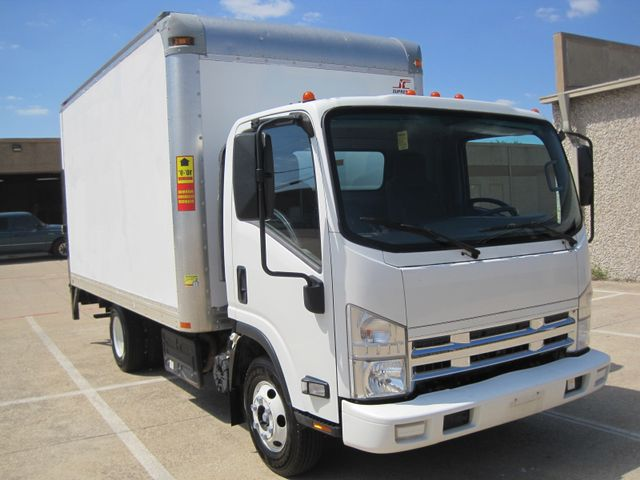 2011 Isuzu NPR DSL  14Ft Box Van, with Liftgate, 1 Owner, Low Miles Plano, Texas 1