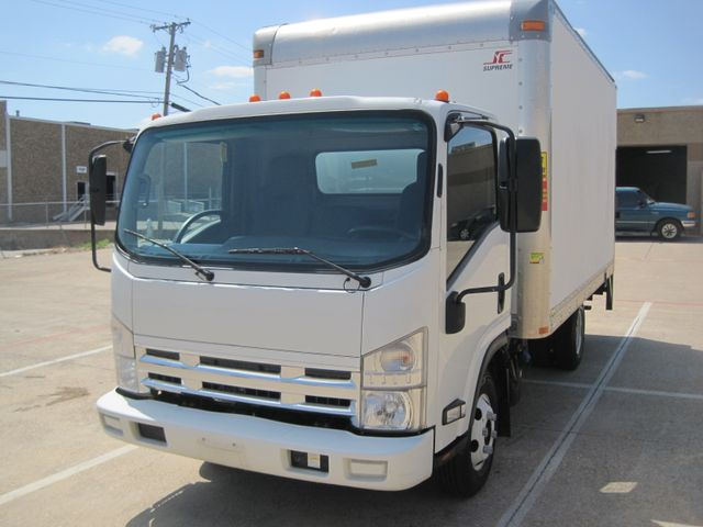 2011 Isuzu NPR DSL  14Ft Box Van, with Liftgate, 1 Owner, Low Miles Plano, Texas 3