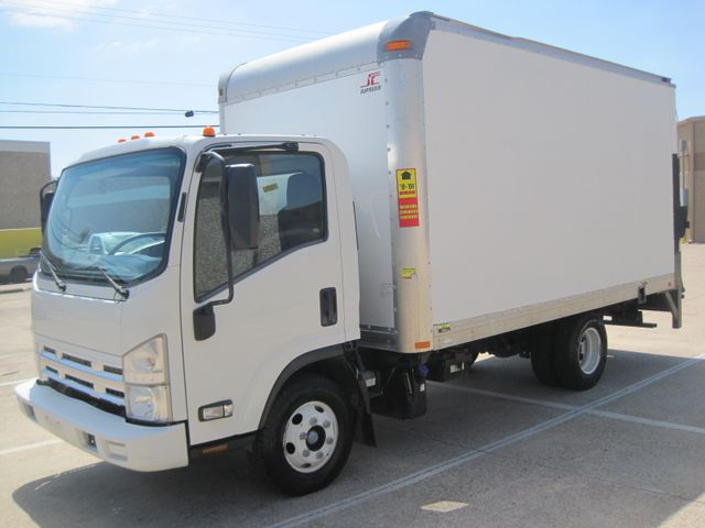 2011 Isuzu NPR DSL  14Ft Box Van, with Liftgate, 1 Owner, Low Miles Plano, Texas 4