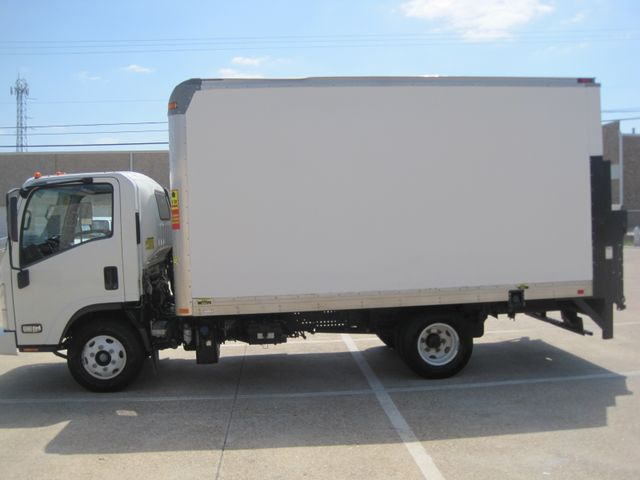 2011 Isuzu NPR DSL  14Ft Box Van, with Liftgate, 1 Owner, Low Miles Plano, Texas 5