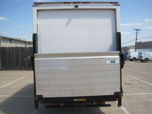 2011 Isuzu NPR DSL  14Ft Box Van, with Liftgate, 1 Owner, Low Miles Plano, Texas 9