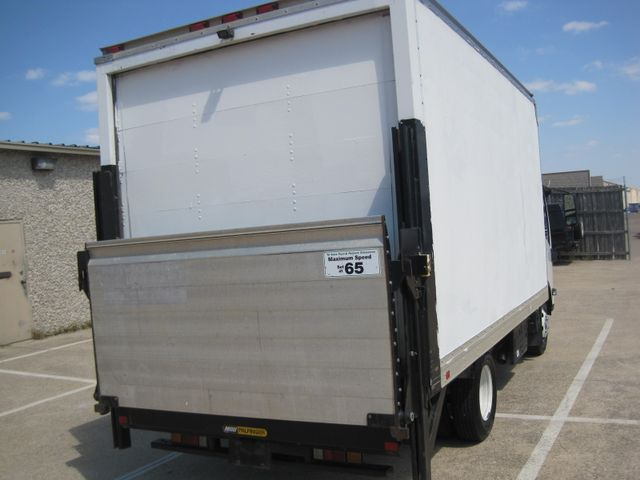 2011 Isuzu NPR DSL  14Ft Box Van, with Liftgate, 1 Owner, Low Miles Plano, Texas 10