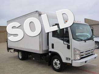 2011 Isuzu NPR DSL 14ft Box Van With Liftgate 1 Owner, Low Miles Plano, Texas