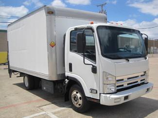 2011 Isuzu NPR Diesel 14Ft Box Van With Liftgate, 1 Owner, L@@K ONLY 54k MILES Plano, Texas