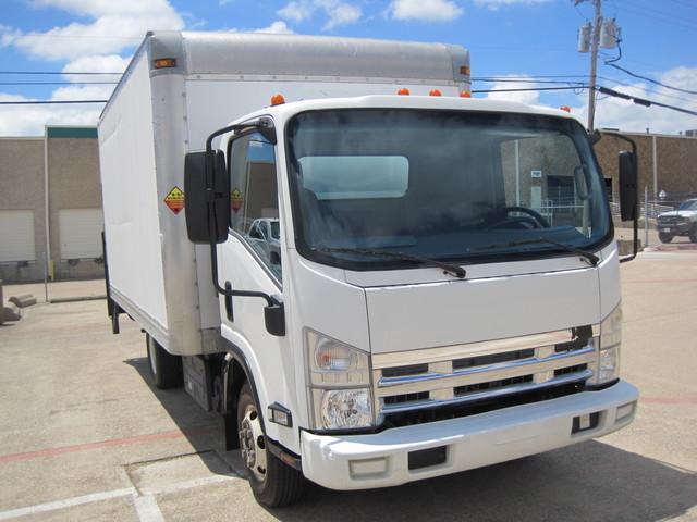 2011 Isuzu NPR Diesel 14Ft Box Van With Liftgate, 1 Owner, L@@K ONLY 54k MILES Plano, Texas 1