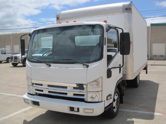 2011 Isuzu NPR Diesel 14Ft Box Van With Liftgate, 1 Owner, L@@K ONLY 54k MILES Plano, Texas 3