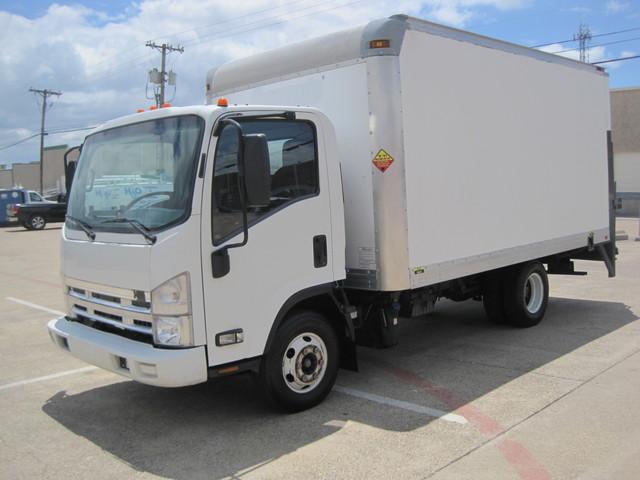 2011 Isuzu NPR Diesel 14Ft Box Van With Liftgate, 1 Owner, L@@K ONLY 54k MILES Plano, Texas 4