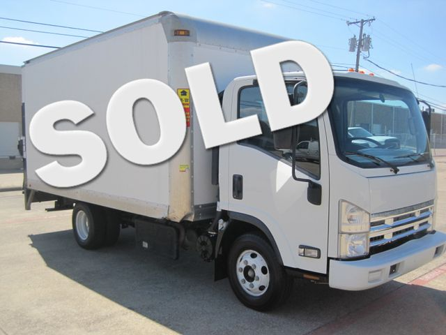 2011 Isuzu NPR DSL, 14ft Box Van with Liftgate,  1 Owner, Only 88k Miles Plano, Texas 0