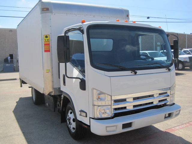 2011 Isuzu NPR DSL, 14ft Box Van with Liftgate,  1 Owner, Only 88k Miles Plano, Texas 1