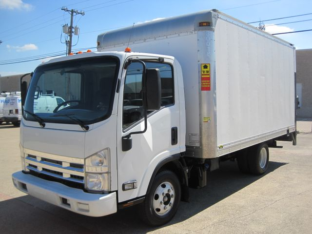 2011 Isuzu NPR DSL, 14ft Box Van with Liftgate,  1 Owner, Only 88k Miles Plano, Texas 4