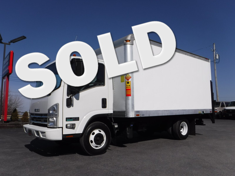2011 Isuzu NPR  14FT Box Truck in Ephrata PA