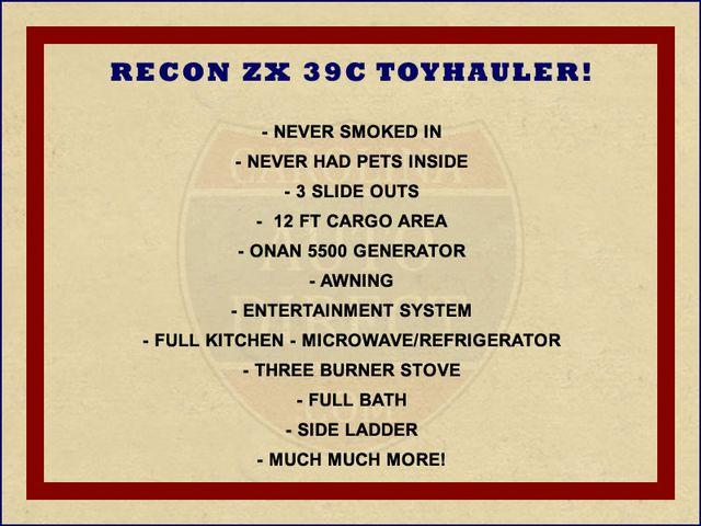 2011 Jayco RECON ZX  39C TOYHAULER Mooresville , NC 1