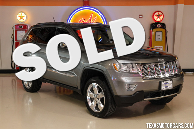 2011 Jeep Grand Cherokee Overland Summit Financing is available with rates as low as 29 wac G